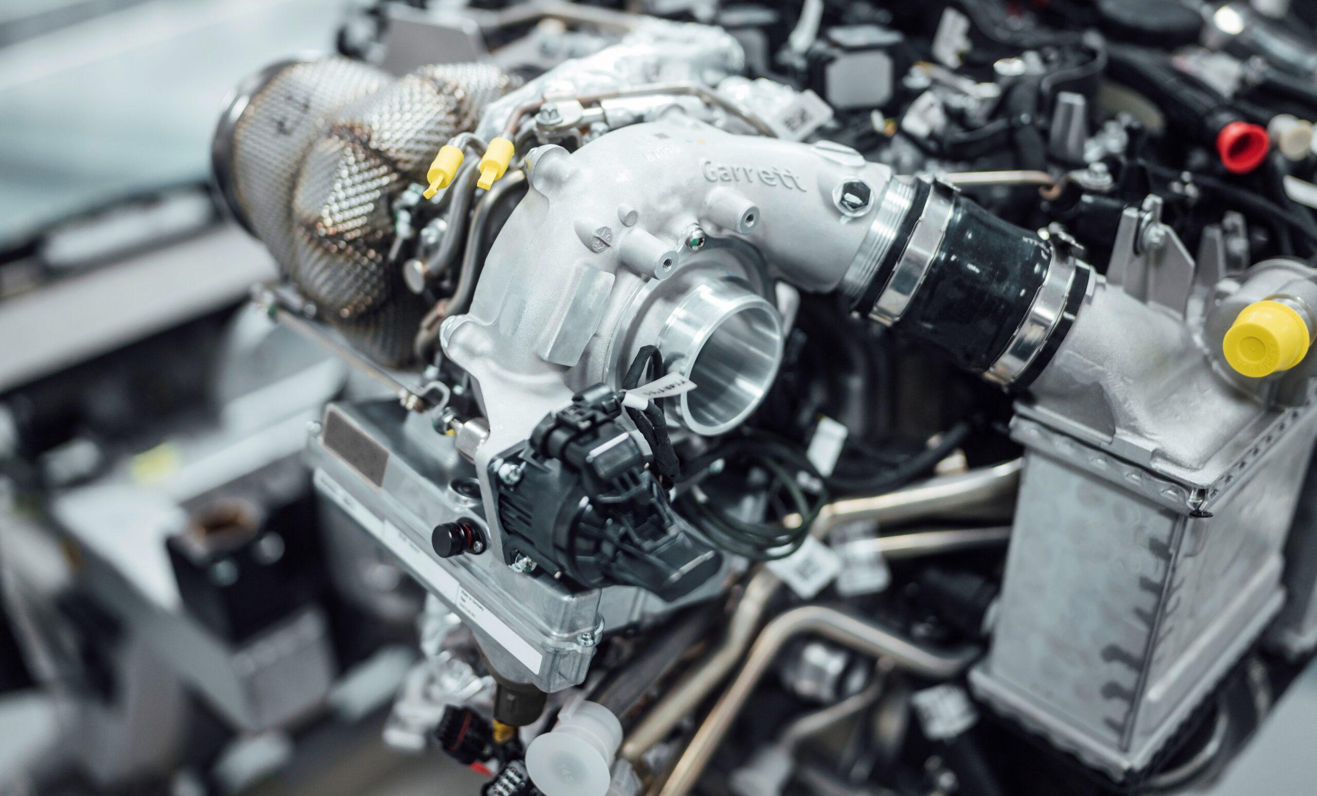 Innovative High Performance Antriebskomponenten made by Mercedes-AMG, elektrifizierter Turbolader // Innovative High Performance drive components made by Mercedes-AMG, electrified turbo charger